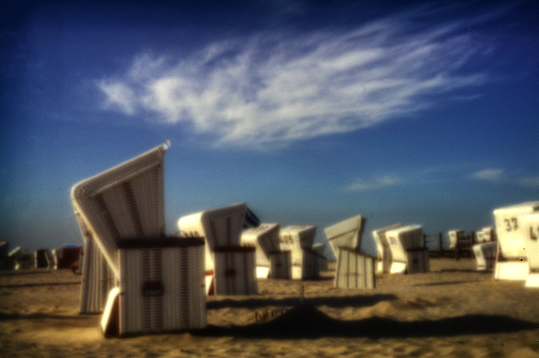 Strandkörbe (Beach Chairs) in St. Peter Ording