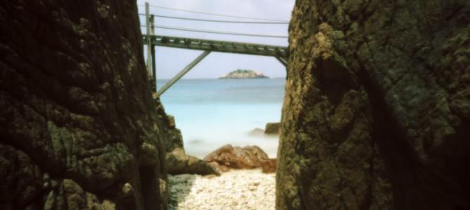Mit Skink Pinhole Pancake in Mamiya RB67 Filmback auf der Tropeninsel Pulau Redang