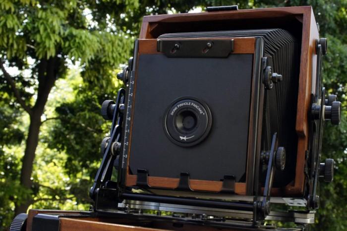 Skink Pinhole Pancake Retro mit Fujifilm FP-3000B Instant Film