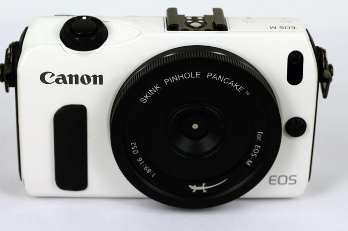 Canon EOS M als Pinhole Kamera / Canon EOS M as pinhole camera