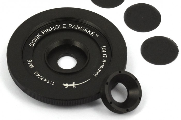 """Skink Pinhole Pancake """"Retro"""" – jetzt auch für Pentax K und Sony A"""