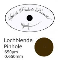 Lochblende 650µm